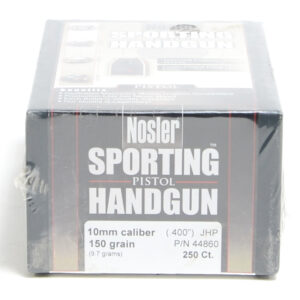 Nosler .400 / 40 150 Grain Jacketed Hollow Point (250)