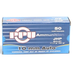 Prvi Ammo 10mm 180 Grain Jacketed Hollow Point (50) 10/Cs