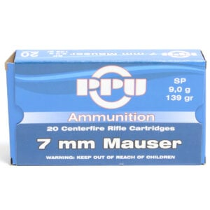 Prvi Ammo 7X57 Mauser 139 Grain Soft Point (20)