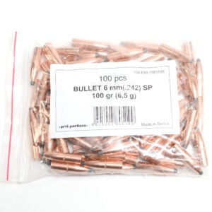 Prvi .242 / 243 Cal 100 Grain Soft Point (100)