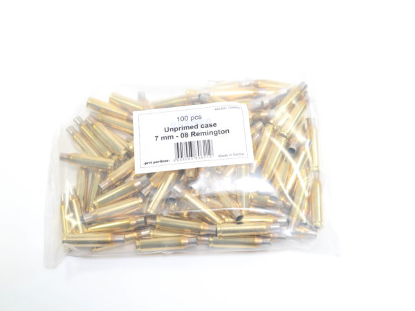 Prvi Partizian Unprimed Brass 7mm-08 Rem (50)