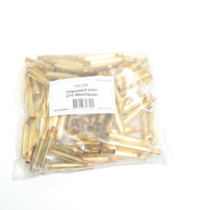 Prvi Partizian Unprimed Brass 270 Win (100)