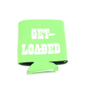 Powder Valley Can Koozie Lime Green