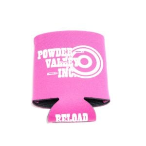 Powder Valley Can Koozie Pink