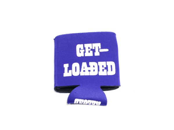 Powder Valley Can Koozie Purple