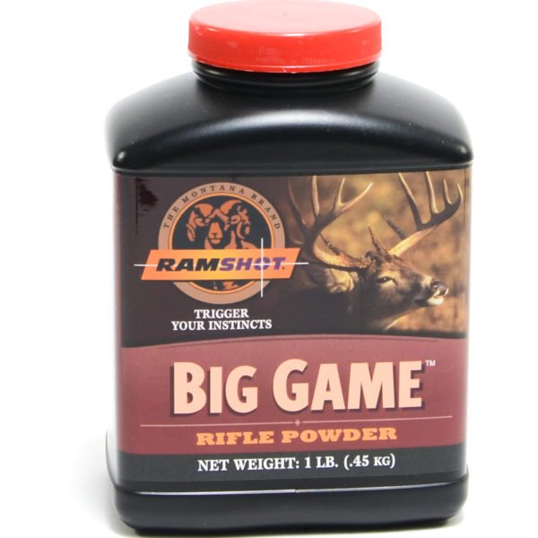 Ramshot Big Game 1 Pound of Smokeless Powder