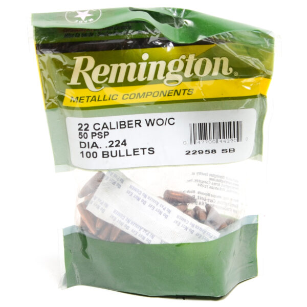 Remington .224 / 22 50 Gr Pointed Soft Point  (100)