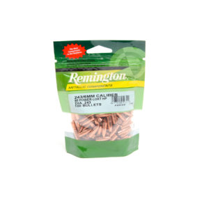 Remington .243 / 6Mm 80 Gr Plated Lead Hollow Point  (100)