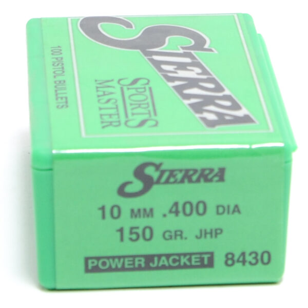 Sierra .40 / 10mm 150 Grain Jacketed Hollow Point (100)