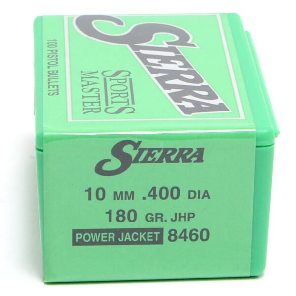 Sierra .40 / 10mm 180 Grain Jacketed Hollow Point (100)
