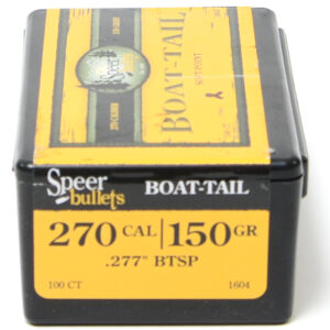 Speer .277 / 270 150 Grain Soft Point Boat Tail (100)