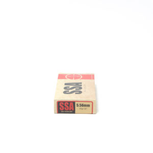 SSA Ammo 5.56mm 55 Grain Boat Tail (20) 20/Cs