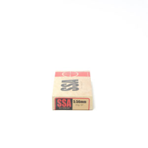 SSA Ammo 5.56mm 63 Grain Soft Point (20) 20/Cs