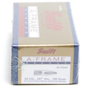 Swift .257 / 257 100 Grain A-Frame Semi-Spitzer (50)