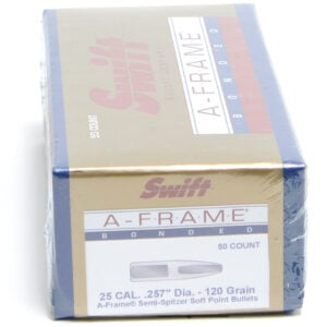 Swift .257 / 257 120 Grain A-Frame Semi-Spitzer (50)