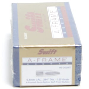 Swift .264 / 6.5mm 120 Grain A-Frame Semi-Spitzer (50)