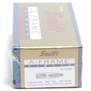 Swift .264 / 6.5mm 140 Grain A-Frame Semi-Spitzer (50)