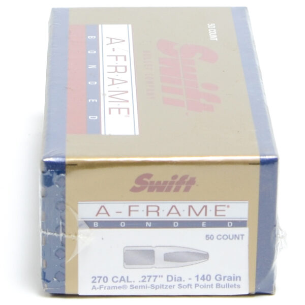 Swift .277 / 270 140 Grain A-Frame Semi-Spitzer (50)