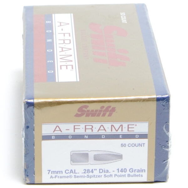Swift .284 / 7mm 140 Grain A-Frame Semi-Spitzer (50)