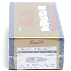 Swift .284 / 7mm 160 Grain A-Frame Semi-Spitzer (50)