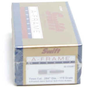 Swift .284 / 7mm 175 Grain A-Frame Semi-Spitzer (50)