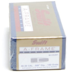 Swift .308 / 30 150 Grain A-Frame Round Nose (50)