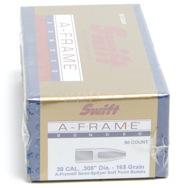 Swift .308 / 30 165 Grain A-Frame Semi-Spitzer (50)