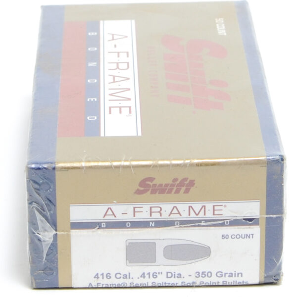Swift .416 / 416 350 Grain A-Frame Semi-Spitzer (50)