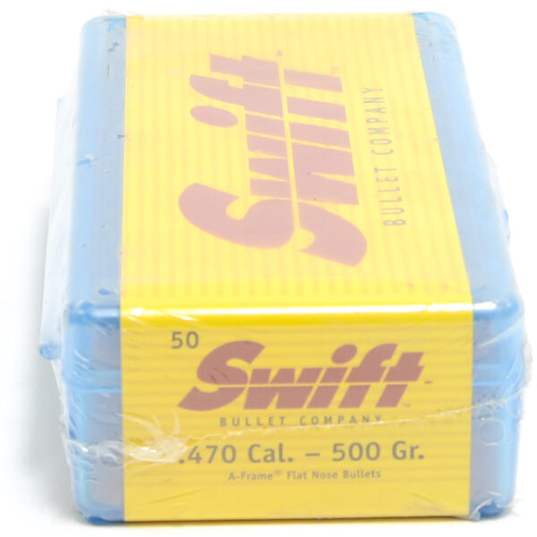 Swift .475 / 470 500 Grain A-Frame Round Nose (50)