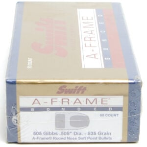 Swift .505 / 505 535 Grain A-Frame Round Nose (50)