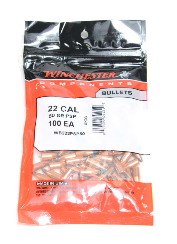 Winchester .224 / 22 50 Grain Pointed Soft Point (100)