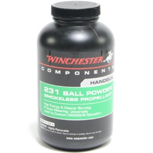 Winchester 231 1 Pound of Smokeless Powder