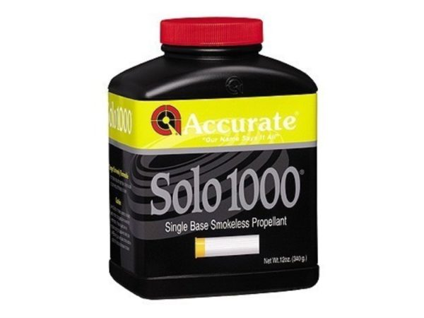 Accurate Solo 1000 1 Pound of Smokeless Powder
