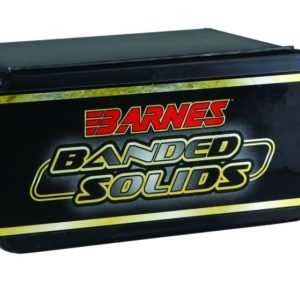 Barnes .224 / 22 45 Grain Banded Solid Boat Tail Bullet (50)