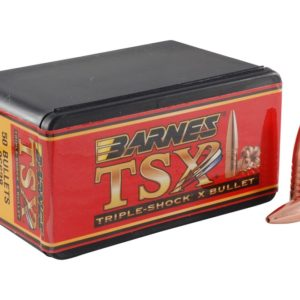 Barnes .366 / 9.3mm 286 Grain Triple-Shock X Flat Base Bullet (50)
