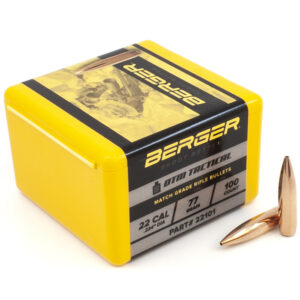Berger .224 / 22 77 Grain Open Tip Match Tactical (100)