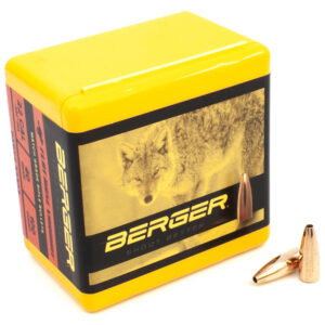 Berger .224 / 22 40 Grain Match Varmint Flat Base (100)