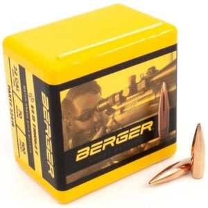 Berger .224 / 22 70 Grain Match Target Very Low Drag (100)