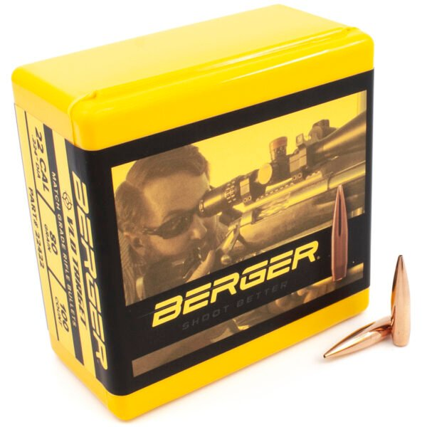 Berger .224 / 22 80 Grain Match Target Very Low Drag (100)