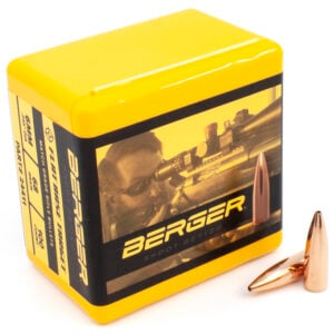 Berger .243 / 6mm 68 Grain Target Flat Base (100)