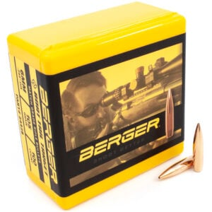 Berger .243 / 6mm 105 Grain Target Boat Tail (100)