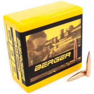 Berger .243 / 6mm 115 Grain Target Very Low Drag (100)