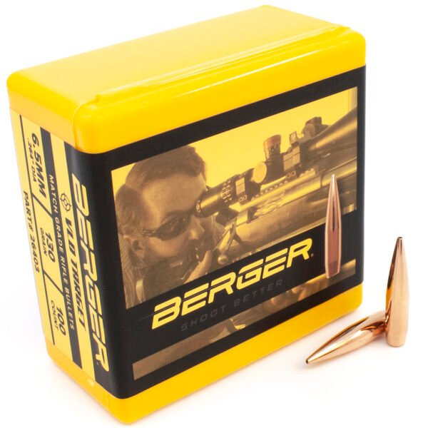 Berger .264 / 6.5mm 130 Grain Target Very Low Drag (100)