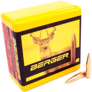 Berger .264 / 6.5mm 140 Grain Hunting Very Low Drag (100)