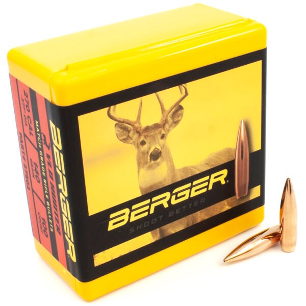 Berger .277 / 270 140 Grain Hunting Very Low Drag (100)