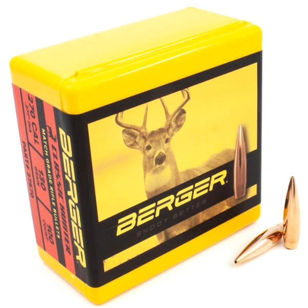 Berger .277 / 270 130 Grain Classic Hunter (100)