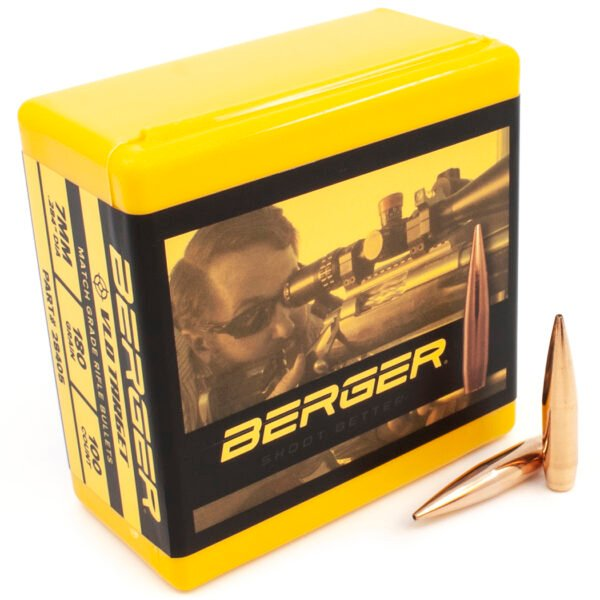 Berger .284 / 7mm 180 Grain Target Very Low Drag (100)