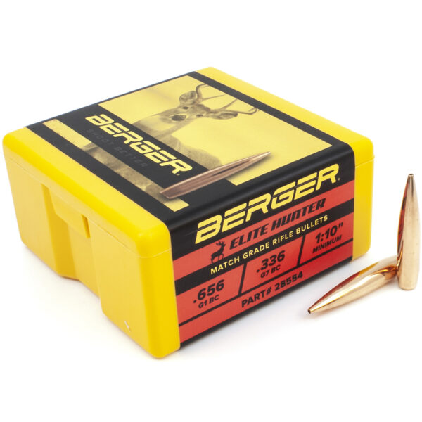 Berger .284 / 7mm 175 Grain Elite Hunter Bullet (100)