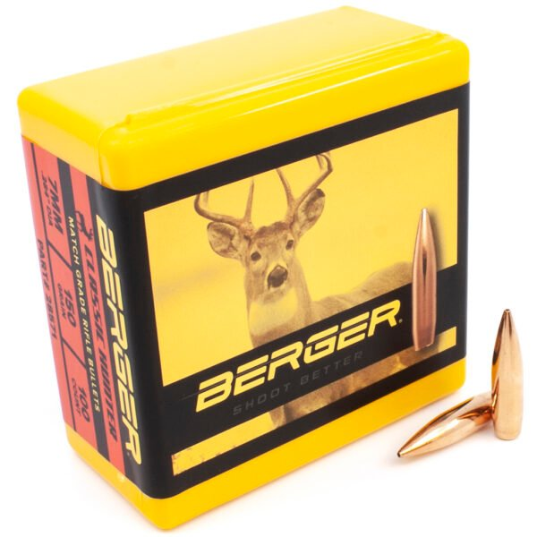 Berger .284 / 7mm 150 Grain Classic Hunter (100)