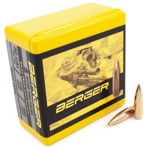 Berger .308 / 30 175 Grain Open Tip Match Tactical (100)